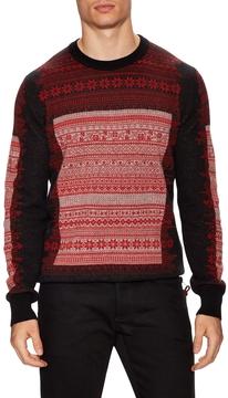 Christian Dior Men's Intarsia Crewneck Sweater