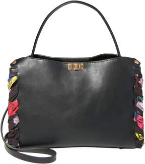 Betsey Johnson WRAPPED AROUND YOUR FINGER SATCHEL