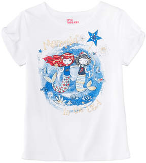 Epic Threads Toddler Girls Mermaid T-Shirt, Created for Macy's