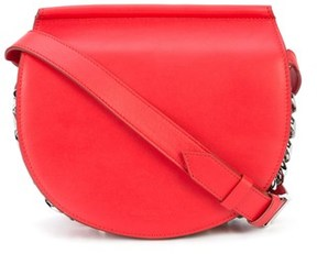 Givenchy Women's Red Leather Shoulder Bag.