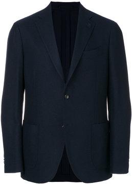 Lardini patch pocket blazer