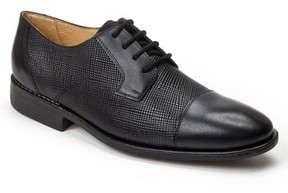 Sandro Moscoloni Men's Ronny Embossed Cap Toe Derby