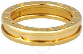 Bvlgari B.zero1 18kt Yellow Gold Three-band Size 7.25 Ring