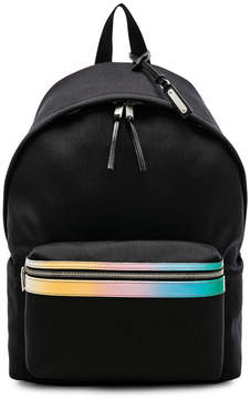 Saint Laurent Degrade City Backpack