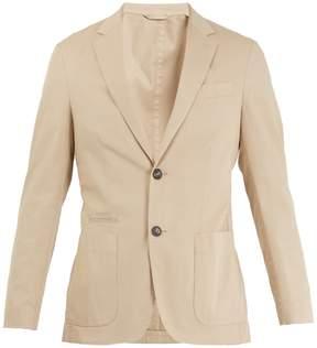 Ermenegildo Zegna Notch-lapel cotton-blend blazer