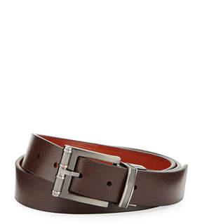 Robert Graham Wilmington Reversible Leather Belt
