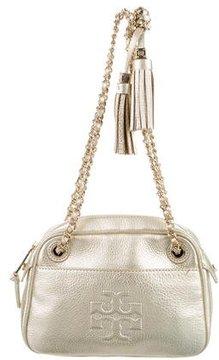Tory Burch Metallic Leather Bag - GOLD - STYLE