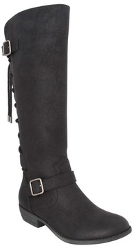 Nina Girl's Gessica Buckle Strap Riding Boot