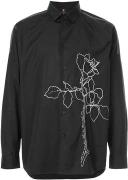 Oamc floral embroidered shirt