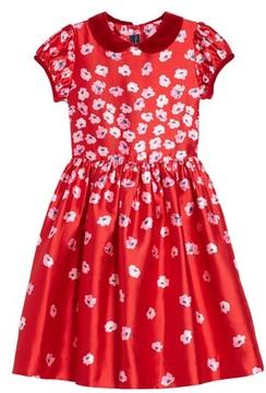 Oscar de la Renta Infant Girl's Floral Print Dress