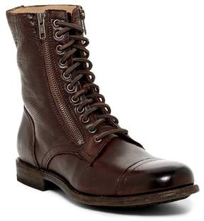 Frye Tyler Double Zip Lace-Up Boot