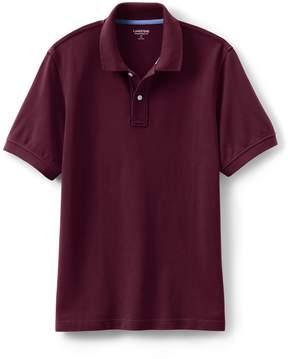 Lands' End Lands'end Men's Short Sleeve Tailored Fit Mesh Polo Shirt