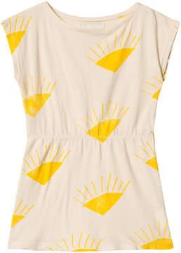 Bobo Choses Buttercream Sun Shaped Dress