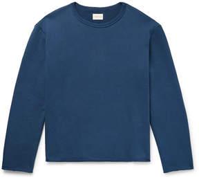 Simon Miller Garvey Loopback Cotton-Jersey Sweatshirt