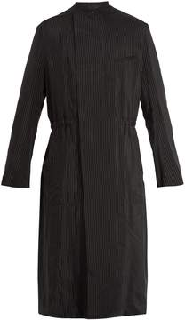 Haider Ackermann Lightweight pinstripe coat