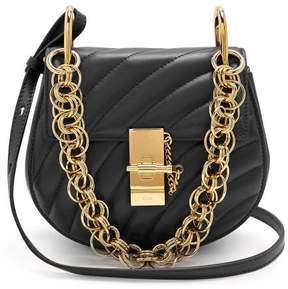 Chloé Drew Bijou Mini Leather Cross Body Bag - Womens - Black