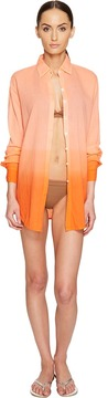 Letarte Ombre Beach Shirt Women's Swimwear