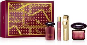 Versace 4-Pc. Crystal Noir Gift Set