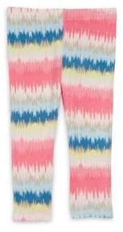 Imoga Toddler's, Little Girl's& Girl's Eleni Stripe-Print Leggings
