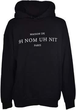 Ih Nom Uh Nit Printed Text Hoodie