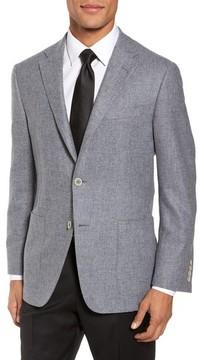 Hickey Freeman Men's Classic B Fit Wool & Cashmere Blazer