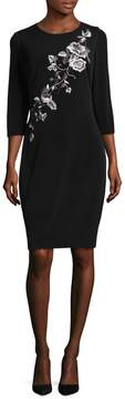 JS Collections Women's Matte Jersey Dress