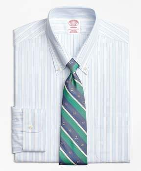 Brooks Brothers Non-Iron Madison Fit BrooksCool® Music Stripe Dress Shirt