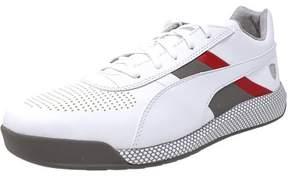 Puma Men's Ferrari Podio White / Ankle-High Fashion Sneaker - 11.5M