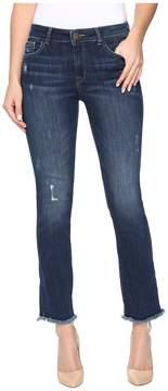 DL1961 Mara Instasculpt Straight Leg Ankle Crop in Ravine Women's Jeans