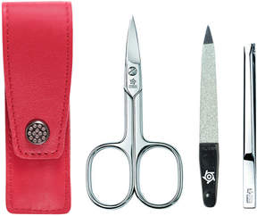 Pfeilring Pocket Manicure Set - Red by 3pc Manicure Set)