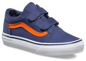Vans Sneakers, Old Skool, Canvas, Crown Blue/Mandarin Orange