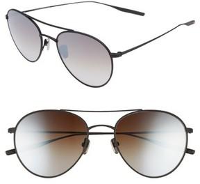 Salt Women's 54Mm Polarized Round Sunglasses - Black Sand