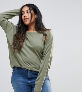 Brave Soul Plus Rony Dip Back Sweater