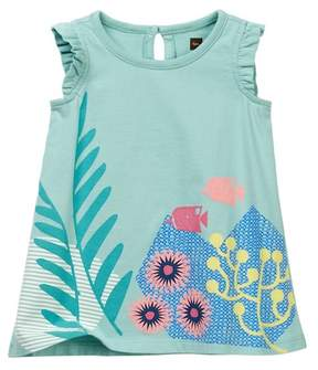 Tea Collection Ningaloo Graphic Dress (Baby Girls)