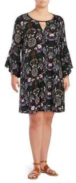 Context Plus Floral Knit Dress