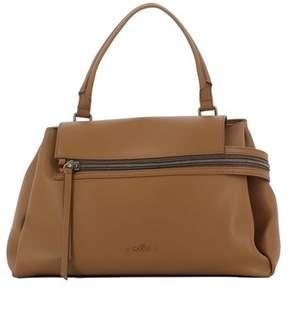 Hogan Women's Brown Leather Shoulder Bag.