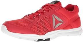 Reebok Men's Yourflex Train 9.0 MT Cross-Trainer Shoe, Primal Red/Black/White/Pewter, 7 M US