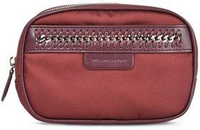 Stella McCartney burgundy falabella go cosmetic case small