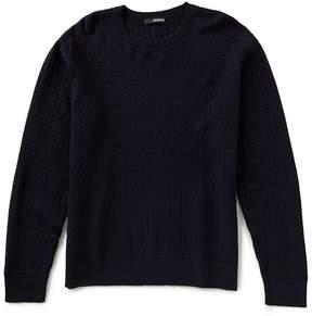 Murano Textured Crew Sweater