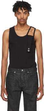 Helmut Lang Black Reveal Tank Top