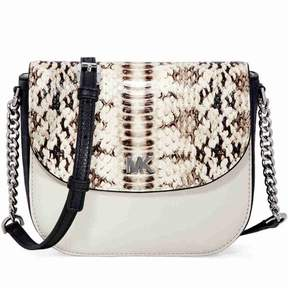 Michael Kors Snake-Embossed Leather Crossbody Bag - ONE COLOR - STYLE