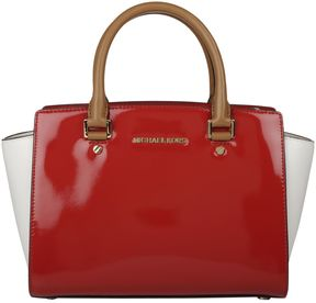 Michael Kors Satchel Handbag - BRIGHT RED - STYLE