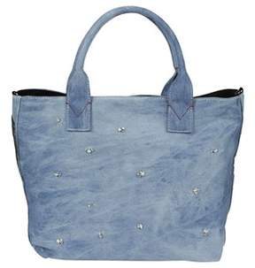 Pinko Women's Blue Cotton Tote.