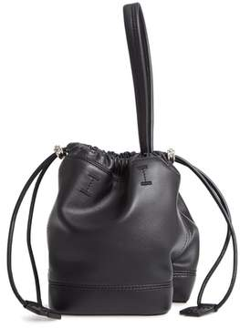 Paco Rabanne Mini Pouch Faux Leather Tote