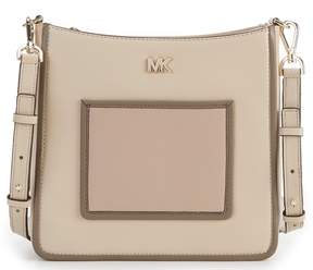MICHAEL Michael Kors Gloria Pocket Colorblock Cross-Body Bag