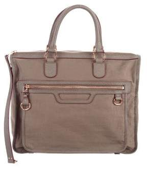 MZ Wallace Leather & Canvas Satchel