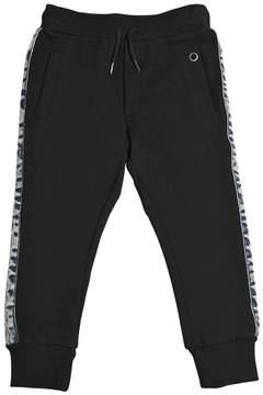 Diesel Cotton Sweatpants W/ Denim Side Stripes