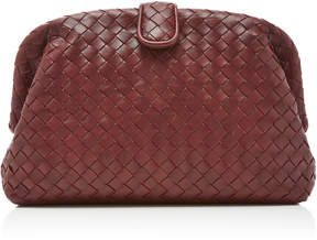 Bottega Veneta Lauren Intrecciato Leather Clutch