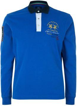 La Martina Embroidered Crest Polo Shirt