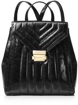 MICHAEL Michael Kors Whitney Medium Leather Backpack